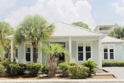 Large 3 Bedroom House- one block to pool.  Great location!