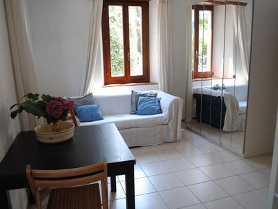 Photo for Holiday apartment Caslano for 3 persons - Holiday apartment in a two family house
