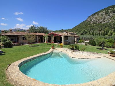 Photo for SPECIAL OFFER ! VILLA WITH PRIVATE POOL & FANTASTIC GARDEN IN POLLENSA