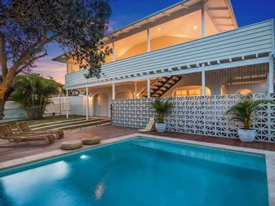 Photo for A PERFECT STAY - Castaway on Tallows - Stunning award winning home with pool