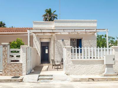 Photo for Villa Telia Directly on the Beach with Terrace; Pets Allowed, Parking Available