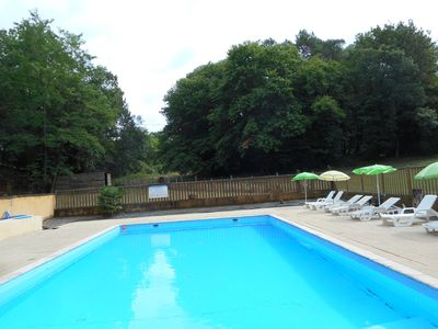 Photo for House for 15 people in Salat, swimming pool to share of 100 m2, wifi