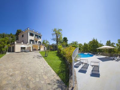 Photo for Villa Il Noce with private pool, SPA, garden, terraces, parking, ideal for families