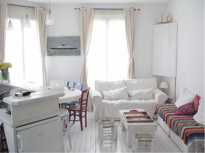 Photo for Charming fisherman's house renovated 50 m from the beach!