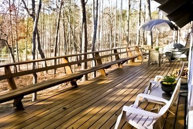 Watch the Sun Dance On The Water From Your Family Room & Wrap Around Deck.