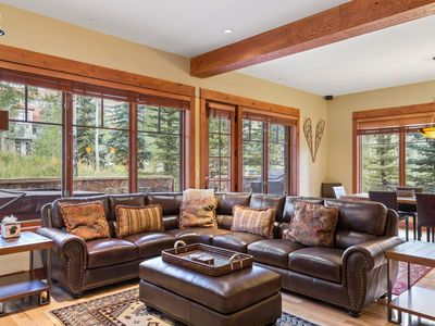 Photo for Luxurious Condo with a Private Hot Tub, Easy Ski Access & a Private Oxygen Bar
