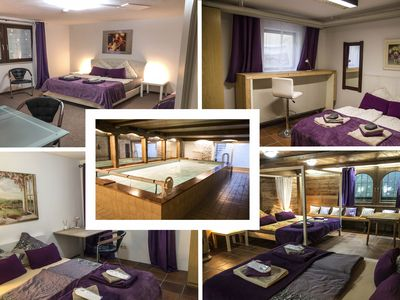 Photo for Munich east - near Munich fair - 4 rooms for 12 guests with pool