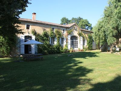 Photo for Farmhouse with private pool in glorious countryside, great for family holidays