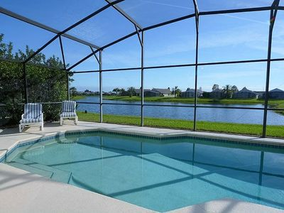 Photo for Enjoy Orlando With Us - Eagle Pointe - Welcome To Cozy 3 Beds 2 Baths  Pool Villa - 7 Miles To Disney