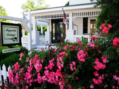Photo for Magnolia Cottage  exquisite  private cottage in heart of  Old Town Manteo!