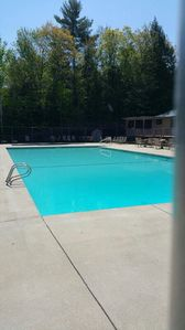 Photo for 2 & 1/2 floor home in the woods yet a walk to Moose Pd & mins to Shawnee Peak!