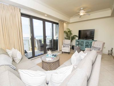 Photo for Beautiful 30A Condo~Private Balcony w/ Gulf Views ~ Quick Walk to the Beach!