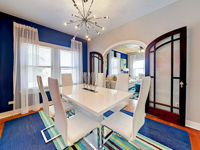 Dining Room - You will find your rental spotlessly clean, thanks to TurnKey's professional housekeeping team.