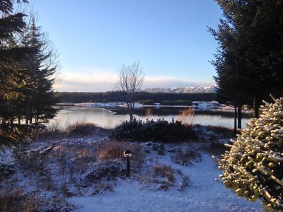 Luxury Cottage in the Golden Circle area  Waterfront/mountain view / Hot tub