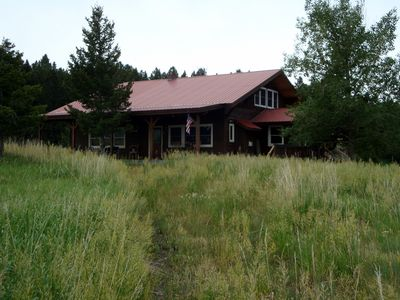 Photo for 3BR Cabin Vacation Rental in Wilsall, Montana