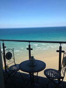 Photo for Couples Luxury Boutique Retreat with Ocean Views on Tolcarne Beach