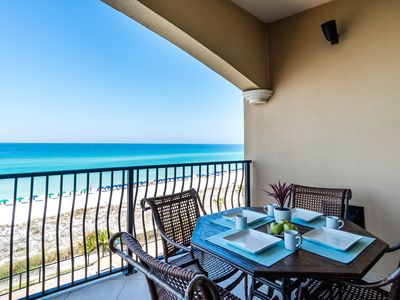 Photo for 3rd Floor Luxury Beach Front condo! New Furnishings! Large Complex Pool!