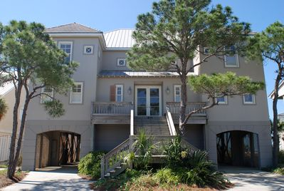 Fantastic custom Gulf Front Home!