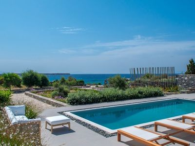 Photo for Aelio Master Villa with Sea View and Private Pool Up to 6 Persons