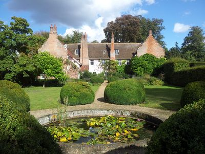 Photo for Blo Norton Hall charismatic 16th Century Moated Manor Holiday Home
