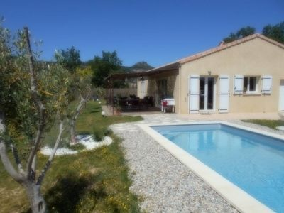 Photo for Holiday villa with pool in Vallon Pont d'Arc, near the Ardèche river