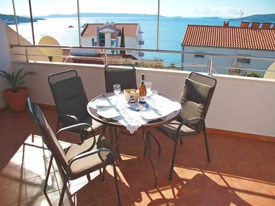 Photo for Apartments Ivo, (13725), Seget Vranjic, Trogir riviera, Croatia