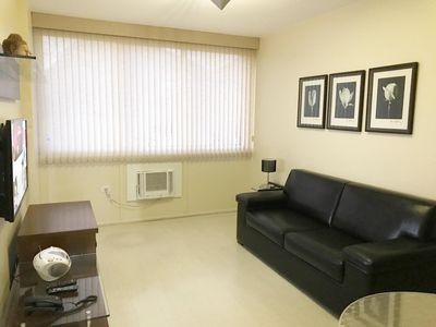 Photo for Excellent 2 bedroom apartment a few meters from Ipanema Beach