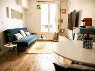 Photo for HostnFly apartments - Beautiful apt at the bottom of Montmartre