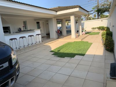 Photo for Home Vacation Rentals Guarujá, 2 Bedrooms, 1 suite, right near the beach
