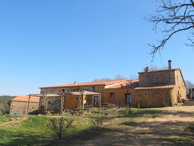 Photo for Typical Catalan farmhouse of the s. XIV at the foot of Montseny with farm animals