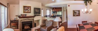 Photo for Cozy Poets Cove Cottages - THREE-BEDROOM COTTAGE WITH PRIVATE HOT TUB