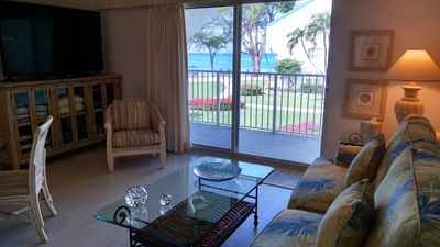 Photo for ROMANTIC OCEANFRONT VILLA ON SEVEN MILE BEACH PERFECT/COUPLES btwn Ritz&Westin