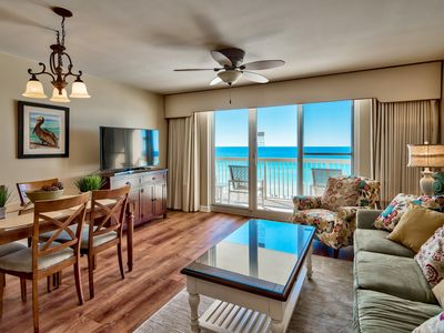 Photo for Gulf Front, Renovated unit in Pelican Beach Resort, Wi-Fi, Netflix, Cable