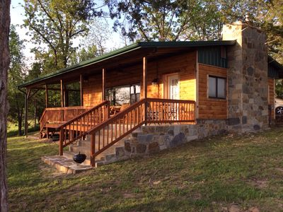 Photo for Pettit Mountain Lakeview Cabins At Lake Tenkiller 'The Little Cabin'