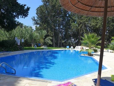 Penthouse Apartment With Access To Two Swimming Pools, large balcony and WiFi