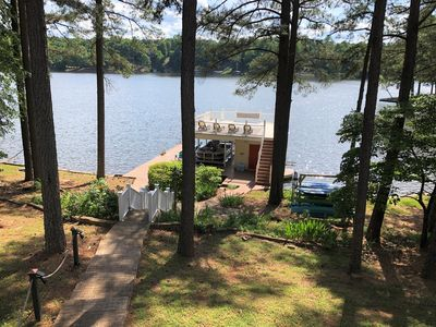 Gentle Sloping Lot to Large Dock and Water