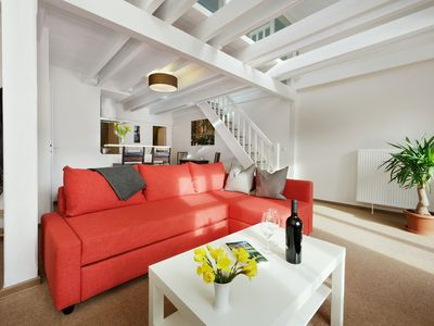 Photo for Apartment 'Charlotte' in the center of Potsdam with sun terrace