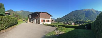 Photo for Self-contained apartment with spectacular mountain views