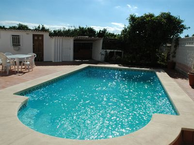 Photo for Villa with private pool - 150 METERS WALK TO BEACH (FAMILIES ONLY)