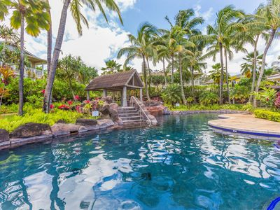Photo for Gorgeous 6 Bedrooms Sleeping 16 in Princeville!