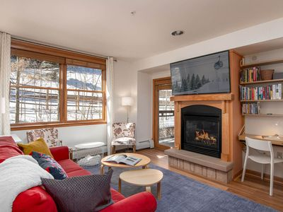Photo for Not To Miss Ski In/Ski Out Condo   Close To Everything   Direct Slope Views!
