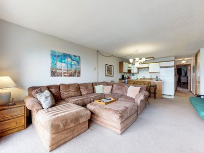 Photo for NEW LISTING! Dog-friendly oceanview condo w/shared hot tub & pool