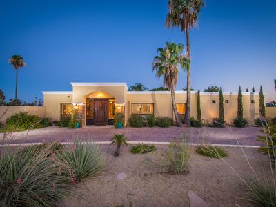 Photo for Scottsdale Luxury Estate - Private 1 acre Villa - POOL HEATING INCLUDED