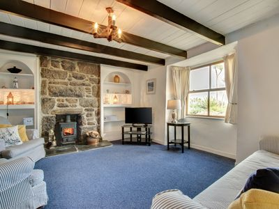 Photo for Morwenna Cottage - Three Bedroom House, Sleeps 6