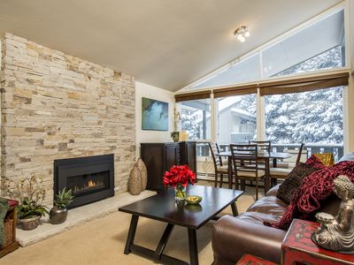 Photo for Vail Luxury  2 bd, Steps to vail mountain,  Family friendly, Romantic getaway