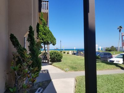 """Photo for """"WOW  AUGUST Special Rate"""" Beachfront VIEW Condo Remodeled, all new appliances."""