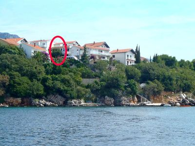 Photo for Apartment in Podaca (Makarska), capacity 2+2