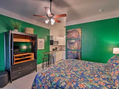 Photo for NEW! Vibrant Naples Studio w/ Pool Access & Porch!