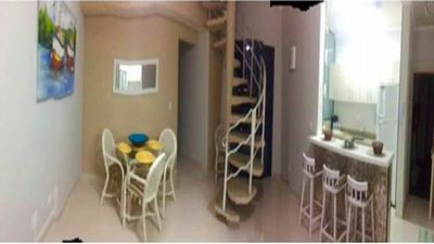 Photo for GUARUJÁ COVE PENTHOUSE (200 METERS FROM THE BEACH, SEA VIEW)