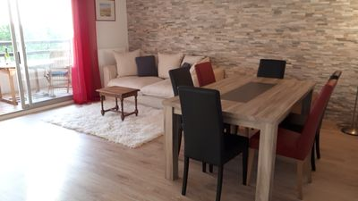 Photo for Apartment 3 BR/ 5 persons with pool in Vence, Provence, near Nice, France